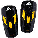 adidas Messi adiZero F50 Shinguard - Black and Solar Gold