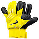Nike Vapor Grip 3 Goalkeeper Gloves  Yellow with Black