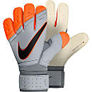 Nike Premier SGT Goalkeeper Gloves - White and Total Orange