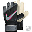 Nike Kids Match Goalkeeper Gloves - Black and Cool Grey