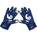 Nike France Stadium Glove  Blue with White