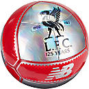New Balance Liverpool 125th Anniversary Dispatch Soccer Ball - Silver