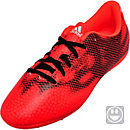 adidas Youth F5 FxG Soccer Cleats - Red and White