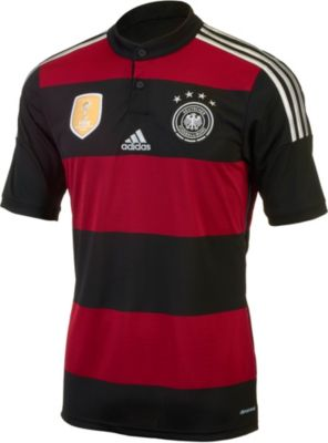 Germany away jersey 2014 adidas germany 4 star jersey for Germany mercedes benz soccer jersey