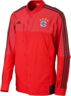 bayern munich anthem jacket adidas fc bayern soccer jackets. Black Bedroom Furniture Sets. Home Design Ideas
