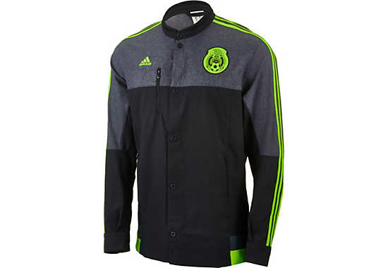 adidas Mexico Anthem Jacket - 2015 Mexico Soccer Jackets