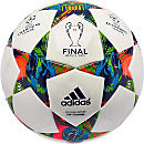 adidas Finale Berlin Top Training Soccer Ball - White and Blue