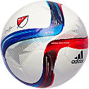 adidas MLS 2015 Top Glider Ball - Silver Metallic