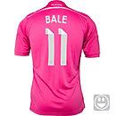 adidas Kids Bale Real Madrid Away Jersey 2014