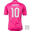 adidas Kids James Real Madrid Away Jersey 2014-15