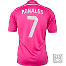 adidas Kids Ronaldo Real Madrid Away Jersey 2014