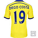 adidas Kids Diego Costa Chelsea Away Jersey 2014-15