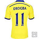 adidas Kids Drogba Chelsea Away Jersey 2014-15