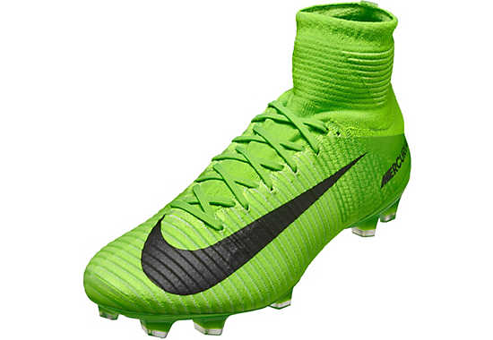 green nike mercurial superfly soccer cleats