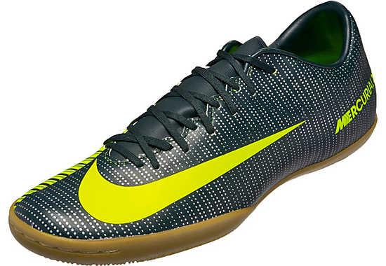 Nike Mercurial CR7 Victory VI- Green Indoor Soccer Shoe
