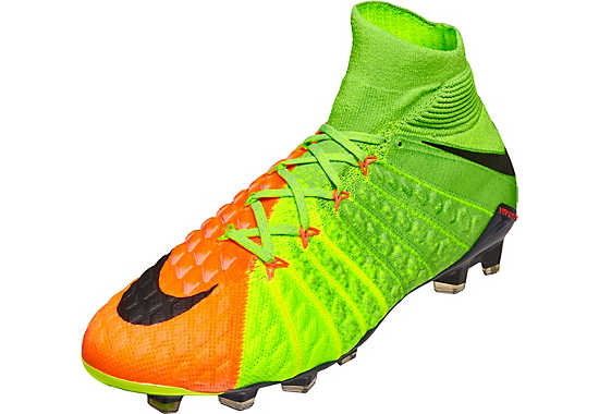 Nike Hypervenom Phantom III FG Electric Green/Hyper Orange