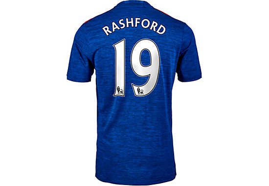 adidas Rashford Manchester United Jersey - 2016/2017 Man ...