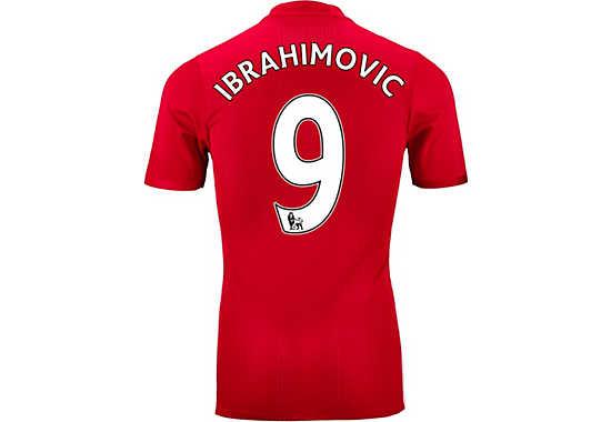 Zlatan Manchester United Jersey