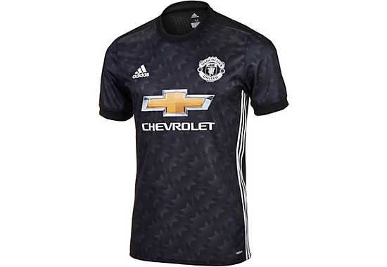 2017 18 Adidas Manchester United Authentic Away Jersey