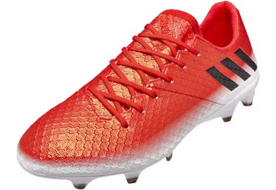 adidas messi. red adidas messi 16.1 fg soccer cleats