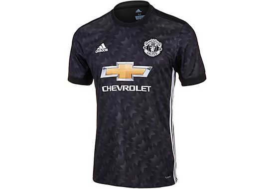 2017 18 Adidas Manchester United Away Jersey