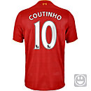 New Balance Kids Philippe Coutinho Liverpool Home Jersey 2016-17