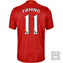 New Balance Kids Roberto Firmino Liverpool Home Jersey 2016-17