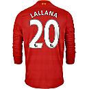 New Balance Adam Lallana Liverpool L/S Home Jersey 2016-17