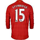 New Balance Daniel Sturridge Liverpool L/S Home Jersey 2016-17