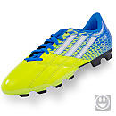 adidas Youth Neoride TRX FG Soccer Cleats  Electricity and Pride Blue