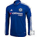 adidas Chelsea L/S Home Jersey 2015-2016