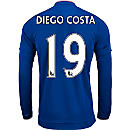 adidas Diego Costa Chelsea L/S Home Jersey 2015