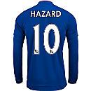 adidas Eden Hazard Chelsea L/S Home Jersey 2015