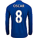 adidas Oscar Chelsea L/S Home Jersey 2015