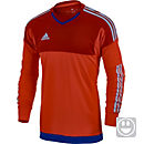 adidas Youth Top Goalkeeper Jersey - Red and Blue