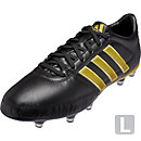 adidas Gloro 16.1 FG Soccer Cleats - Black & Gold Metallic