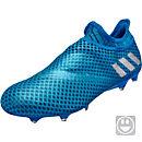 adidas Kids Messi 16+ Pureagility FG - Shock Blue & Silver Metallic