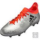 adidas Kids X 16.3 FG - Silver Metallic & Core Black