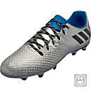adidas Kids Messi 16.3 FG - Silver Metallic & Core Black