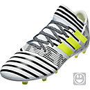 adidas Kids Nemeziz 17.3 FG - White & Solar Yellow