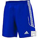 adidas Kids MLS 15 Bold Blue Match Short - Sporting Kaw Valley