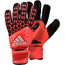 adidas ACE Zones Pro Goalkeeper Gloves - Red and Orange