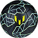 adidas Messi Soccer Ball - Black & Bright Yellow