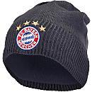 adidas Bayern Munich Beanie - DGH Solid Grey & Solar Red