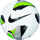Nike Indoor Soccer Ball  White with Green and Black