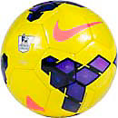 Nike Saber Premier League HiVis Soccer Ball  Yellow with Purple