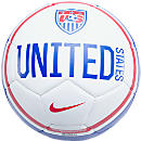 Nike USA Prestige Soccer Ball  White with Blue