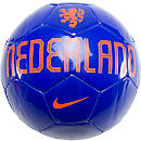 Nike Netherlands Supporter Soccer Ball  Blue with Orange