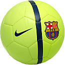 Nike Barcelona Supporters Soccer Ball - Volt Ice