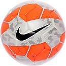 Nike Rolinho Clube Futsal Ball - White and Crimson